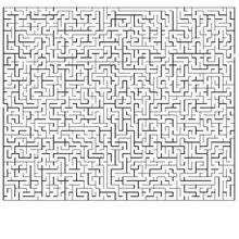 Labirinto MUITO difícil