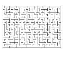 Labirinto difícil para imprimir: ACHE O CAMINHO CERTO