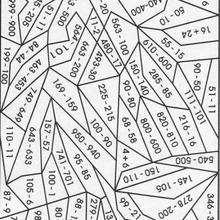 Laranja : Calculando e colorindo