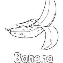 Banana Desenhos Para Colorir Desenhos Para Criancas Jogos