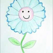Como desenhar uma linda flor