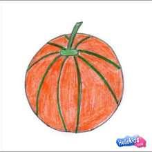 Como desenhar um Melão