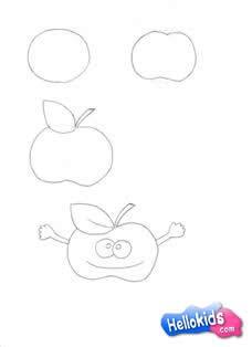 Como desenhar a Sra Maçã