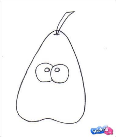 Como desenhar o Sr. Pêra