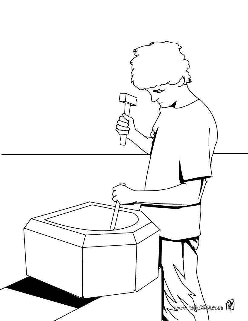 desenhos para colorir de desenho de um mecânico para colorir pt