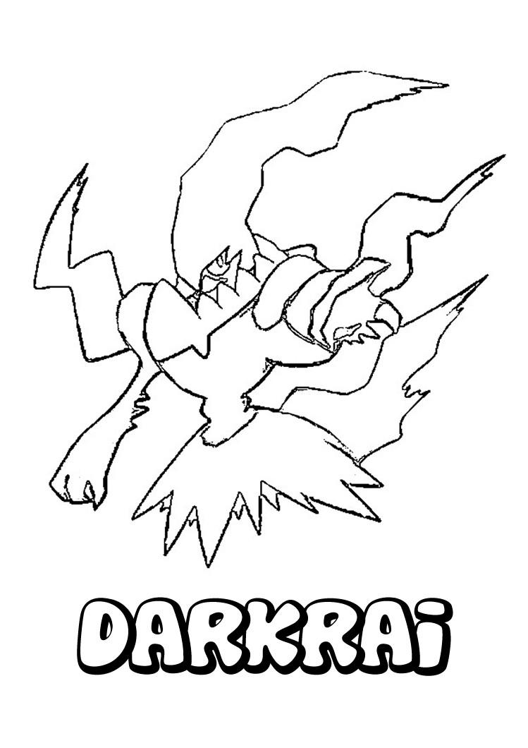 Desenhos para colorir de desenho do pokémon darkrai para colorir -pt ...