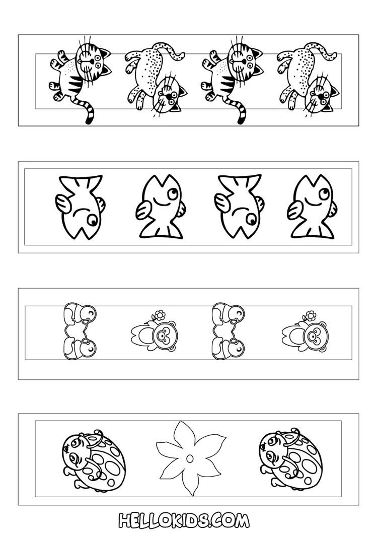 Marcadores de página com animais bonitinhos
