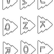 Letras Natalinas : da letra J a letra R