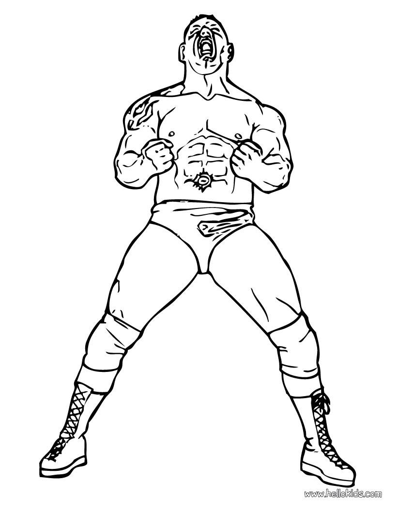 undertaker coloring pages - wwe undertaker wrestling coloring page sketch coloring page