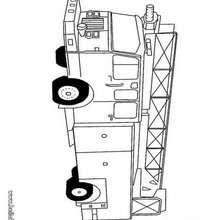 desenhos para colorir de desenho de um caminhão cegonha para colorir