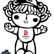 Beibei, a mascote dos Jogos Olímpicos de Verão de 2008