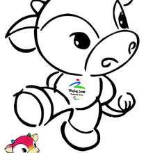 Fu Niu Lele, mascotes olímpicos de Beijing 2008