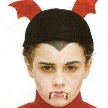 anjo, Pintura facial de VAMPIRO DO DIA DAS BRUXAS