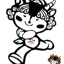 Yingying, mascote olímpicos das olimpíadas de Beijing 2008