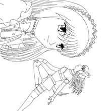 Desenho da Zakuro para colorir online