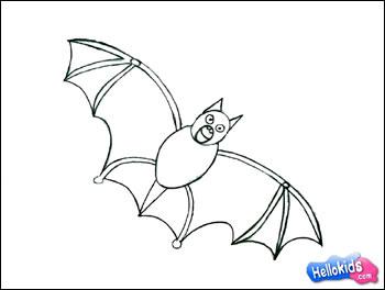 Como Desenhar Como Desenhar Um Morcego De Halloween Pt