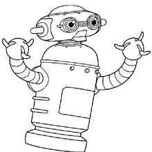 Desenho do Robô Astro para colorir