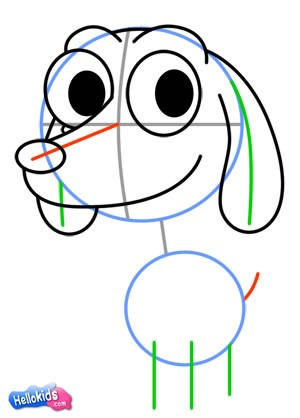 Como desenhar um lindo cachorro