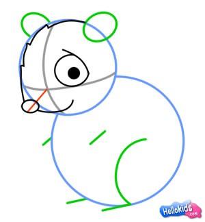 Como desenhar um hamster