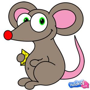 Como desenhar um ratinho