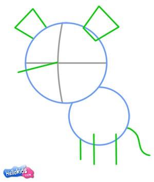 Como desenhar um tigre