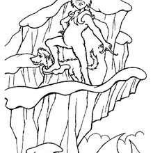 Desenho do Grinch para colorir