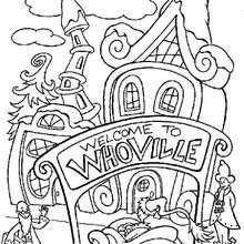 Desenho da Quem-lândia para colorir
