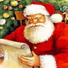 Papél de parede: Papai Noel feliz