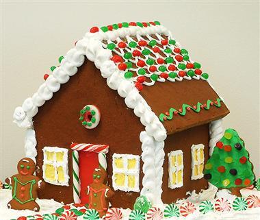 Como fazer uma casa de Biscoito de Gengibre