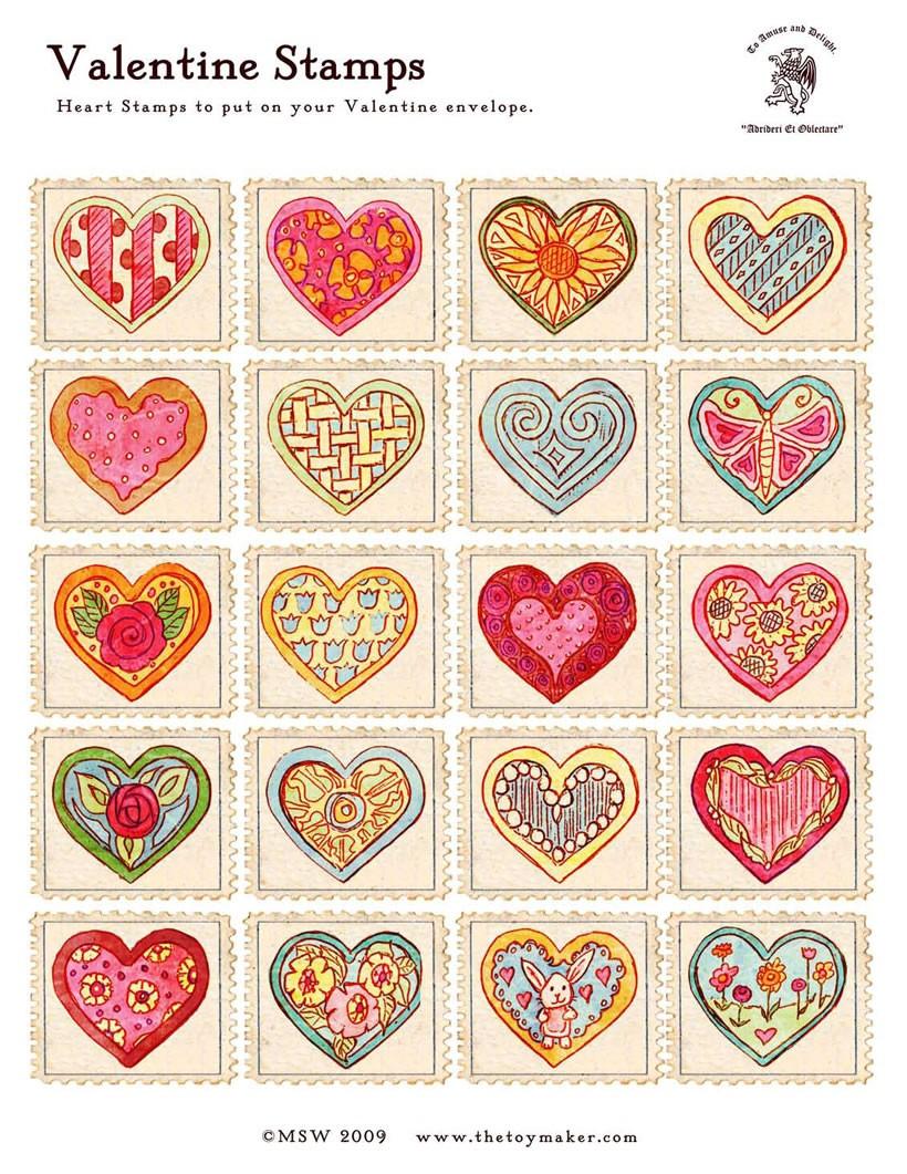 Selos do dia dos namorados