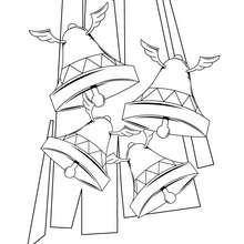 Desenho de Sinos para colorir
