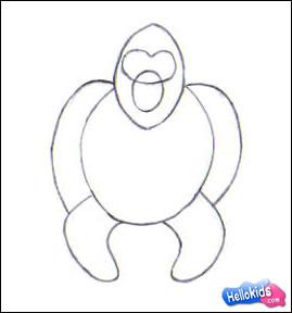 Como desenhar um gorila