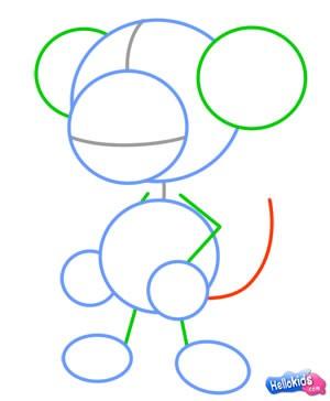 Como desenhar um macaco