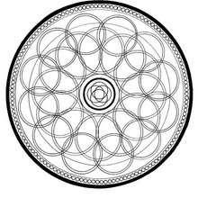Mandala com circulos