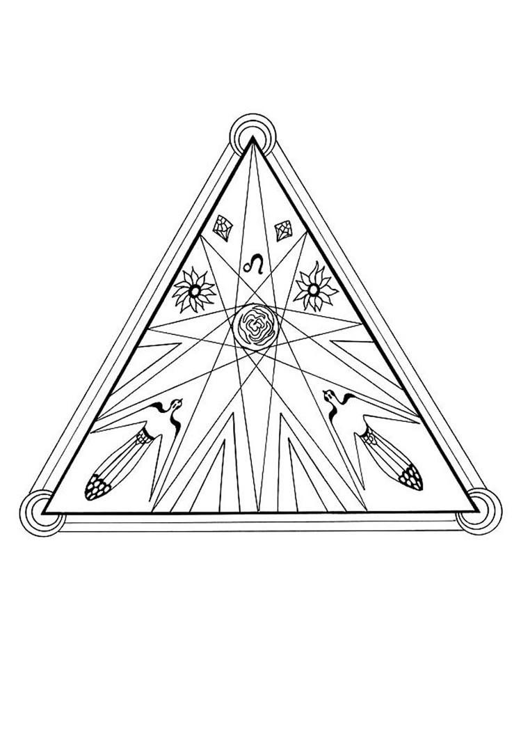 Desenhos Para Colorir De Mandala De Fogo Pt Hellokids Com