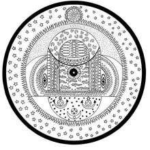 Mandala Cósmico Indiano