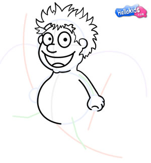 Como desenhar um Cupido