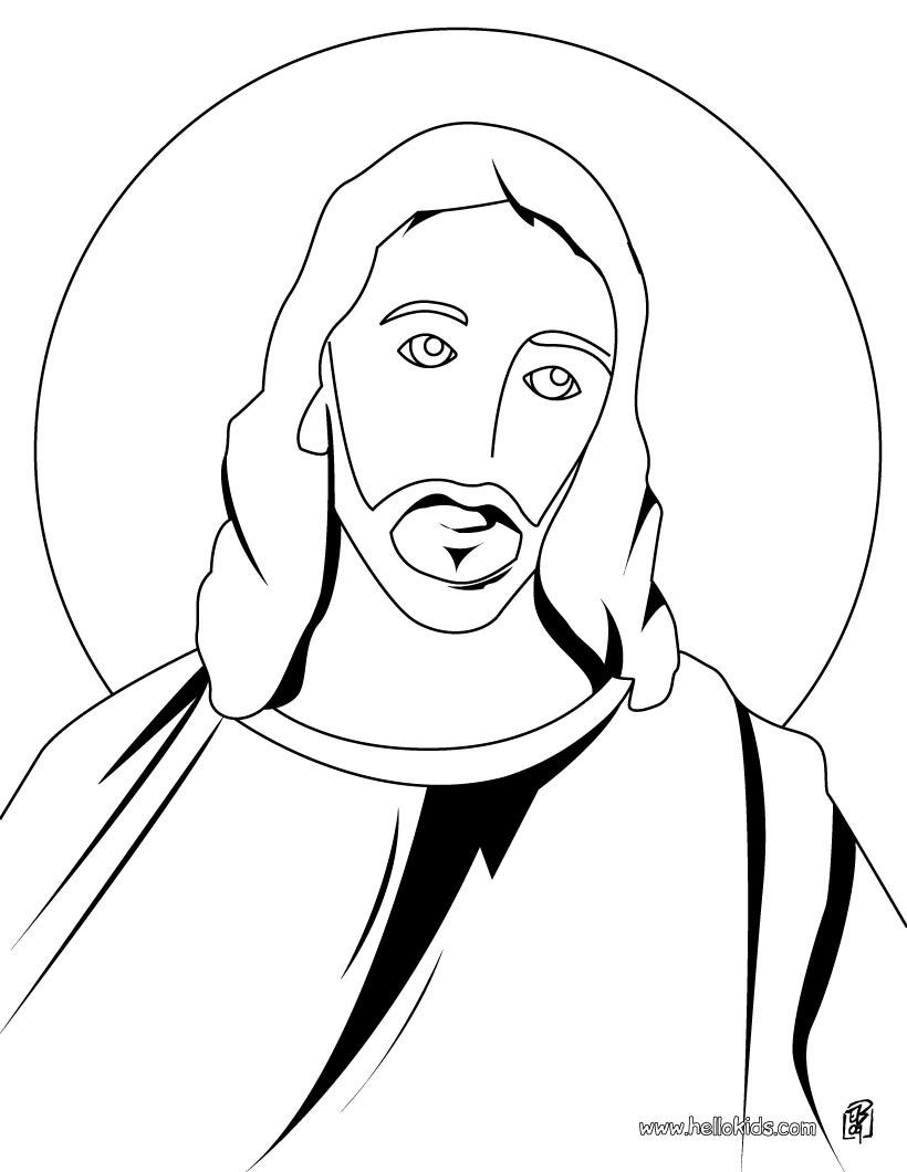 Desenhos Para Colorir De Desenho Do Jesus Crucificado Para Colorir