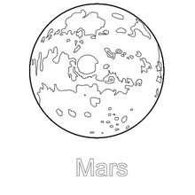 Colorir o planeta Marte
