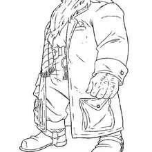 Rúbeo Hagrid para imprimir