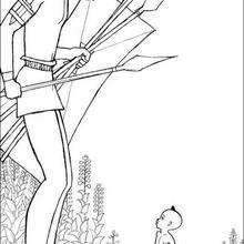 Kirikou e o guerreiro : para colorir