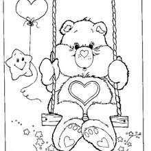 Ursinho Do Meu Coração para colorir