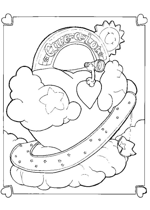 Desenhos Para Colorir De Ursinho Do Meu Coracao Para Colorir Pt