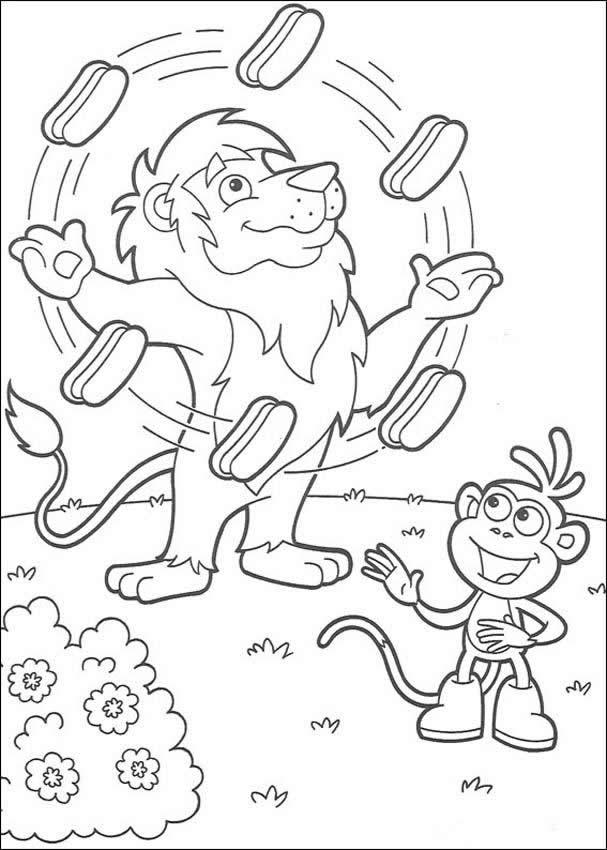 Desenho De Malabarista Para Colorir
