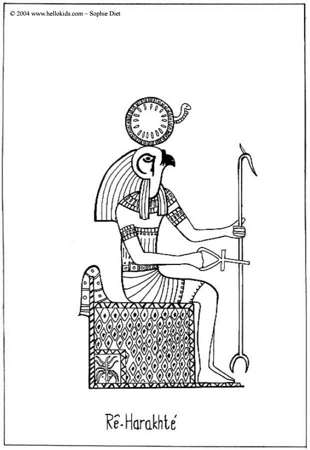Desenhos para colorir de desenho de uma esfinge egípcia para colorir ...
