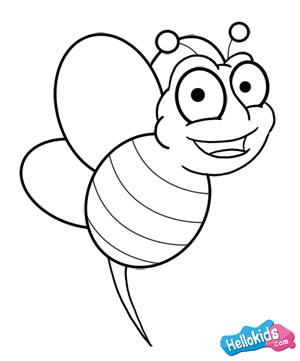 Como desenhar uma abelha