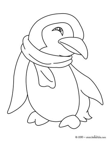 Desenhos Para Colorir De Um Pinguim Para Colorir Pt Hellokids Com