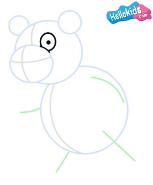 Como desenhar um panda