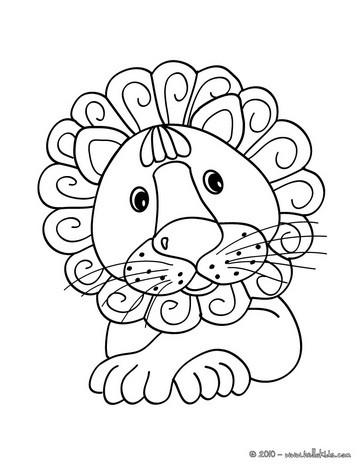 desenhos para colorir de desenho de um leão kawaii para colorir pt