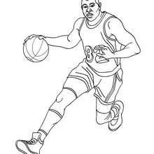 Desenho do Magic Johnson para colorir online